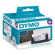 Этикетки Dymo S0929100 бесклеевые 89 х 51 мм, белые (300 шт)