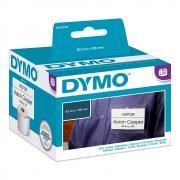 Этикетки Dymo S0929110 бесклеевые с прорезью 106 х 62 мм, белые (250 шт)