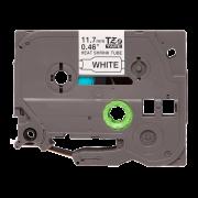 Термоусадочная трубка HSe-231 совместимая, 11.7 мм, черный на белом