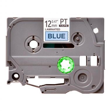 Лента TZe-531 совместимая, 12 мм, черный на синем