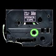 Трафаретная лента STe-151 совместимая, 24 мм