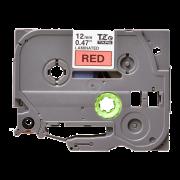 Лента TZe-431 совместимая, 12 мм, черный на красном