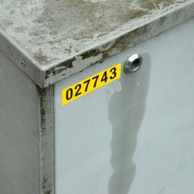 Картридж Brady M21-750-595-YL, 19.05 мм, черный на желтом [brd142811]