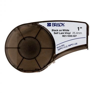 Картридж Brady M21-1000-427, 25.4 мм, черный на белом [brd110928]