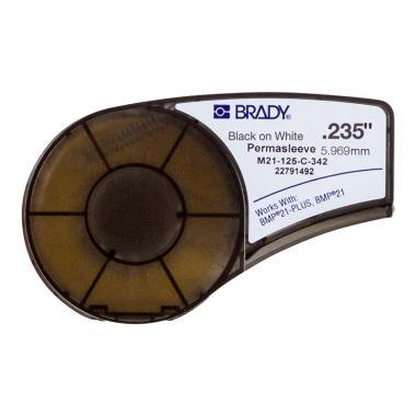 Картридж Brady M21-125-C-342, 5.97 мм, черный на белом [brd110923]
