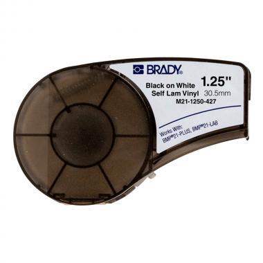Картридж Brady M21-1250-427, 30.48 мм, черный на белом [brd110929]