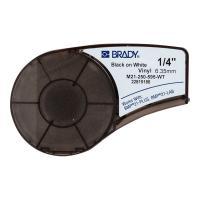 Картридж Brady M21-250-595-WT, 6.35 мм, черный на белом [brd139744]
