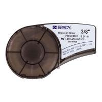 Картридж Brady M21-375-430-WT-CL, 9.53 мм, белый на прозрачном [brd139748]