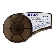 Картридж Brady M21-500-7425, 12.7 мм, черный на белом [brd121015]
