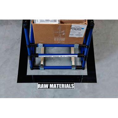 Комплект Brady M71-2000-483-BL-KT для напольной маркировки 50 мм х 15.24 м, синий [brd142149]
