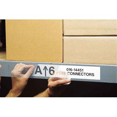 Многоразовые наклейки Brady M71C-1000-581-WT винил перемещаемый 25.4 мм х 15.24 м, белые глянцевые [brd114724]