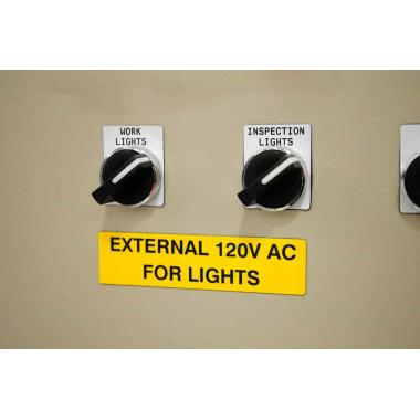 Объемные этикетки Brady M71EP-8-7593-WT полиэстер EPREP, 48 х 19 мм, белые (125 шт) [brd622230]