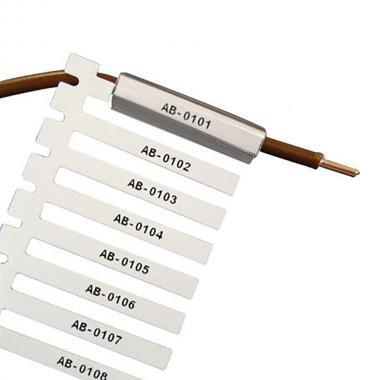 Жесткие вставки для контейнеров Durasleeve Brady M71D-4-7696 винил 23 х 4.4 мм, белые (500 шт) [brd710906]