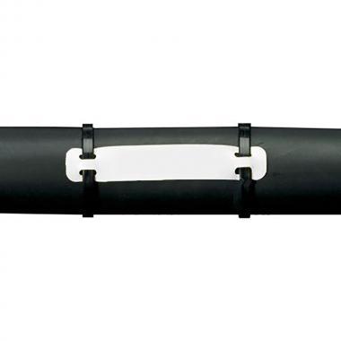 Бирка под два хомута Heatex Brady BM71H-3-7643-WT полиэфир-полиуретан 75 x 25 мм, белая (250 шт) [brd622240]