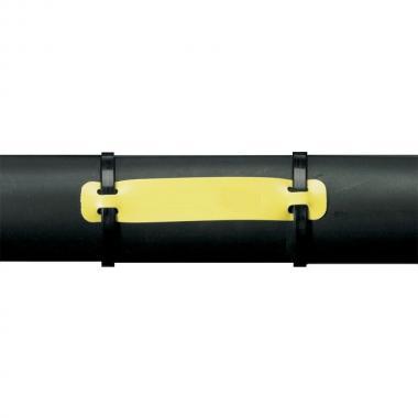 Бирка под два хомута Heatex Brady BM71H-1-7643-YL полиэфир-полиуретан 60 x 10 мм, желтая (250 шт) [brd622237]