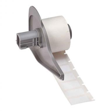 Антистатические этикетки Brady M71-17-473 полиэстер 25.4 х 12.7 мм, белые глянцевые (500 шт) [brd114748]