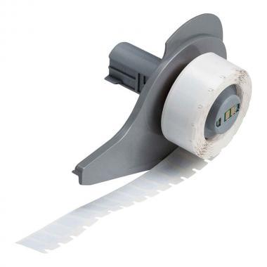 Антистатические этикетки Brady M71-6-473 полиэстер 12.7 х 6.99 мм, белые глянцевые (750 шт) [brd114851]
