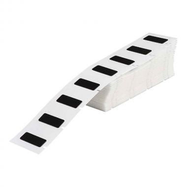 Объемные этикетки Brady M71EP-6-7593-BK полиэстер EPREP, 45 х 15 мм, черные (100 шт) [brd622213]