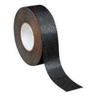 Крупнозернистая противоскользящая лента, черная, 100 мм х 18.3 м