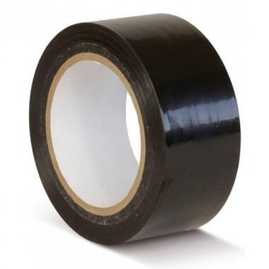 Клейкая лента ПВХ для разметки пола, черная, 50 мм х 33 м