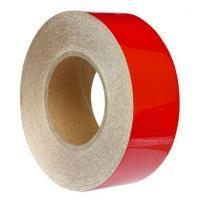Светоотражающая самоклеящаяся лента красная, 50 мм х 45.7 м