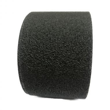 Виниловая противоскользящая лента для ванной и душа, черная, 75 мм х 18.3 м