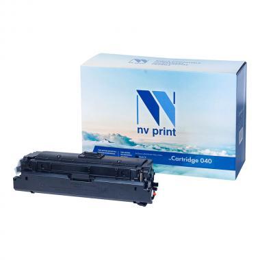 Картридж NVP совместимый NV-040 для Canon, черный [NV-040Bk]