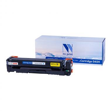 Картридж NVP совместимый NV-045H для Canon, голубой [NV-045HC]