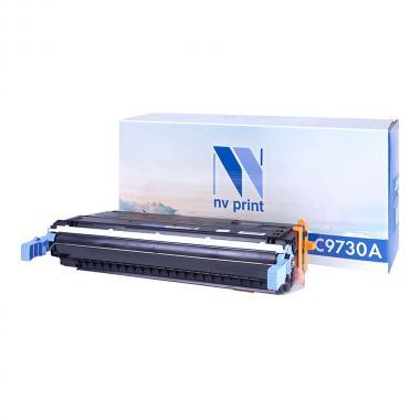 Картридж NVP совместимый NV-C9730A для HP, черный (БЕЗ ГАРАНТИИ) [NV-C9730ABk]