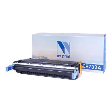 Картридж NVP совместимый NV-C9732A для HP, желтый (БЕЗ ГАРАНТИИ) [NV-C9732AY]