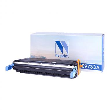 Картридж NVP совместимый NV-C9733A для HP, пурпурный (БЕЗ ГАРАНТИИ) [NV-C9733AM]