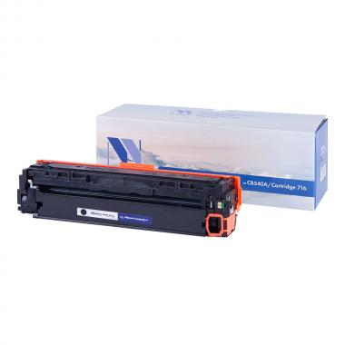 Картридж NVP совместимый NV-CB540A/NV-716 для HP и Canon, черный [NV-CB540A/716Bk]
