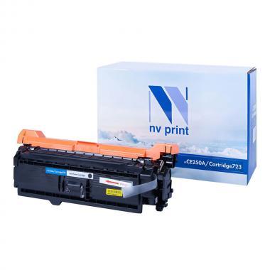 Картридж NVP совместимый NV-CE250A/NV-723 для HP и Canon, черный [NV-CE250A/723Bk]