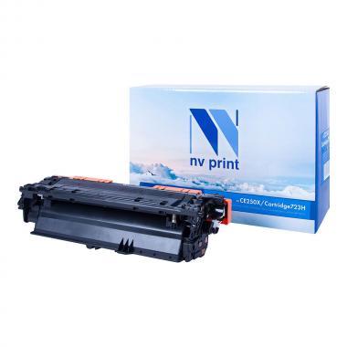 Картридж NVP совместимый NV-CE250X/NV-723H для HP и Canon, черный [NV-CE250X/723HBk]