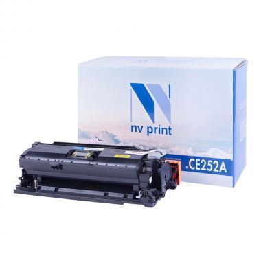 Картридж NVP совместимый NV-CE252A для HP, желтый [NV-CE252AY]