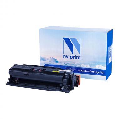 Картридж NVP совместимый NV-CE253A/NV-723 для HP и Canon, пурпурный [NV-CE253A/723M]