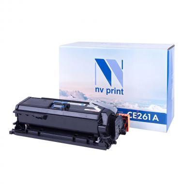 Картридж NVP совместимый NV-CE261A для HP, голубой [NV-CE261AC]