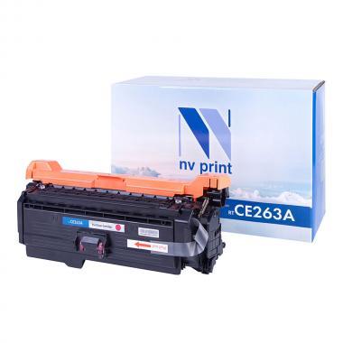 Картридж NVP совместимый NV-CE263A для HP, пурпурный [NV-CE263AM]