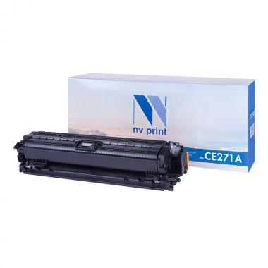 Картридж NVP совместимый NV-CE271A для HP, голубой [NV-CE271AC]