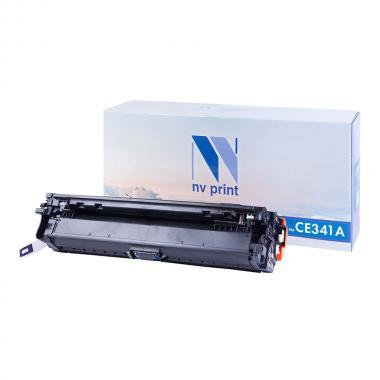 Картридж NVP совместимый NV-CE341A для HP, голубой [NV-CE341AC]