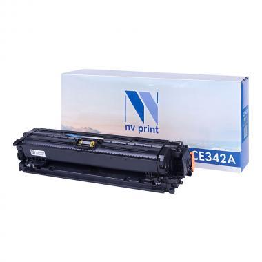 Картридж NVP совместимый NV-CE342A для HP, желтый [NV-CE342AY]