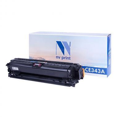Картридж NVP совместимый NV-CE343A для HP, пурпурный [NV-CE343AM]