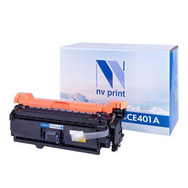 Картридж NVP совместимый NV-CE401A для HP, голубой [NV-CE401AC]