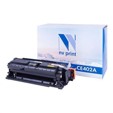 Картридж NVP совместимый NV-CE402A для HP, желтый [NV-CE402AY]