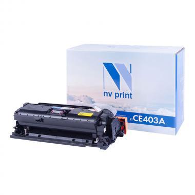 Картридж NVP совместимый NV-CE403A для HP, пурпурный [NV-CE403AM]