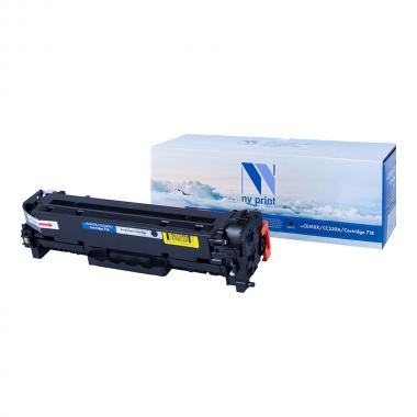 Картридж NVP совместимый NV-CE410X/CC530A/NV-718 для HP и Canon, черный [NV-CE410X/CC530A/718Bk]