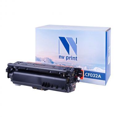 Картридж NVP совместимый NV-CF032A для HP, желтый [NV-CF032AY]