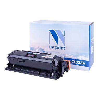 Картридж NVP совместимый NV-CF033A для HP, пурпурный [NV-CF033AM]