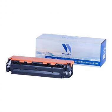 Картридж NVP совместимый NV-CF210X/NV-731Н для HP и Canon, черный [NV-CF210X/731Bk]