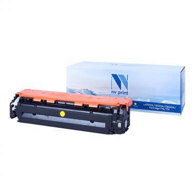 Картридж NVP совместимый NV-CF212A/NV-731 для HP и Canon, желтый [NV-CF212A/731Y]